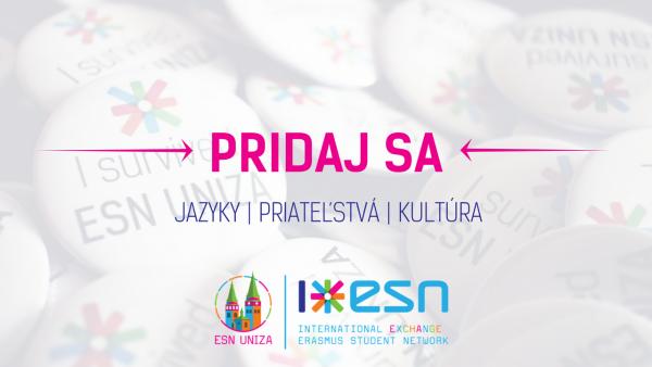 """ESN videá pre kampaň """"PRIDAJ SA!"""""""